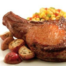 Grilled Pork Chops, Chuletas Recipe