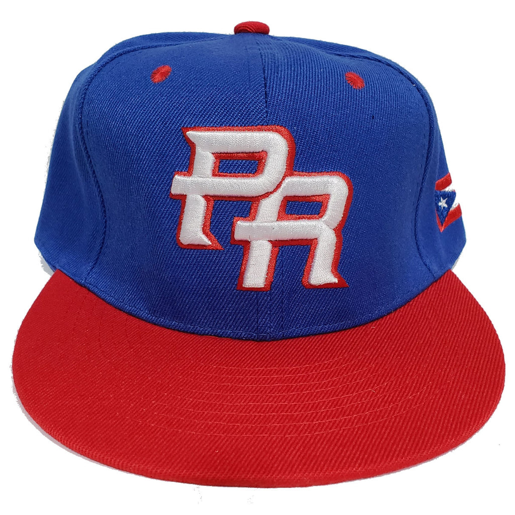 Puerto Rico Baseball Cap Blue and Red