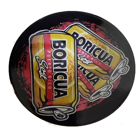 Medalla Style Boricua, 4 pieces Cup Holder