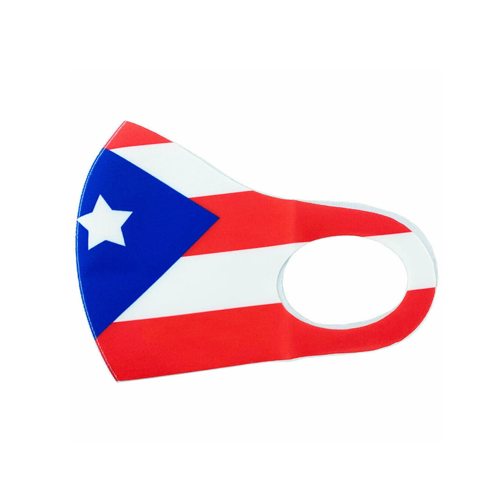 Puerto Rico Flag Lightweight Mask