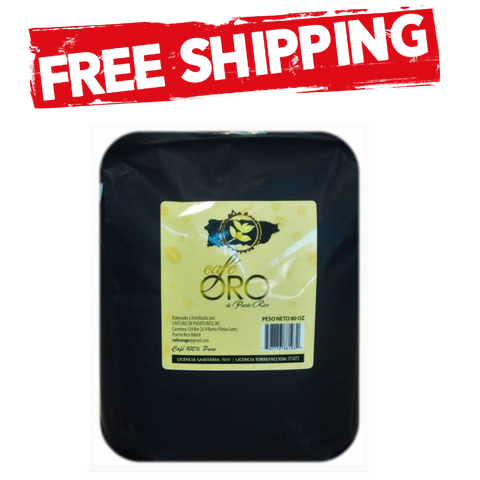 Cafe Oro Whole Beans 5lb