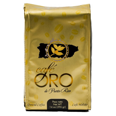 2 Bags Cafe de Oro 14oz
