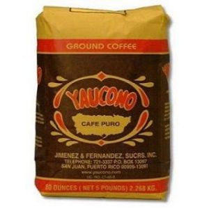 Yaucono Whole Beans 5lb