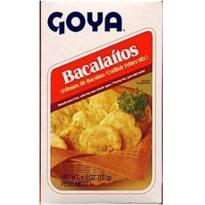 Bacalaitos Goya 4oz