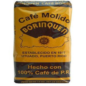2 Bags Cafe Borinquen 14oz