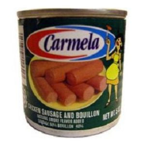 Carmela Chicken Sausage 2 cans 5oz