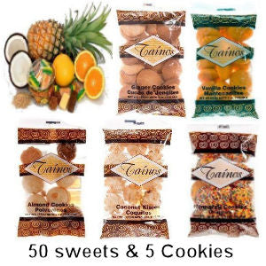 Puerto Rico Sweets and Cookies - www.ElColmado.com
