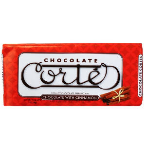 Cortes Chocolate with Cinnamon bar 8oz