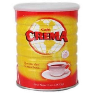 2 Cans Cafe Crema 10oz
