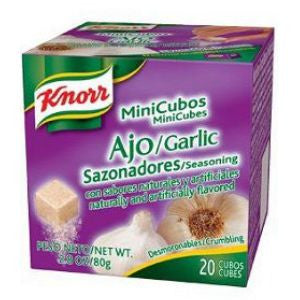 Knorr Garlic Mini Cubos 2 pack 2.8oz