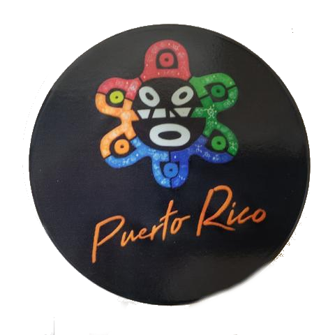 Puerto Rico Taino Sign, 4 pieces Cup Holder