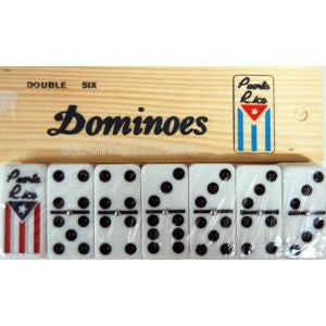 Dominoes Puerto Rico Flag