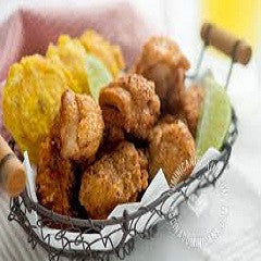 Chicken Cracklings, Chicharrones de Pollo Recipe - www.ElColmado.com