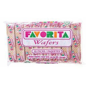 Favorita Wafers - www.ElColmado.com