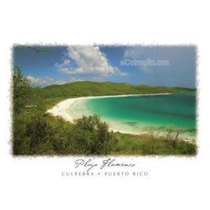 Playa Flamenco Culebra 24 x 18
