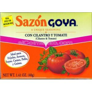 Goya Cilantro and Tomato 2 pack 1.41oz