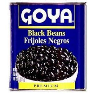 Goya Black Beans 2 cans 15oz ea