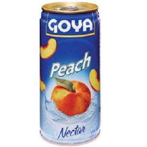 Goya Peach Nectar 5oz (3 units)