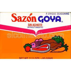 Goya without Achiote 2 pack 2.11oz