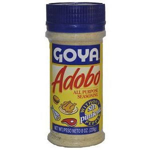 Goya Seasoning without Pepper 2 pack 8oz