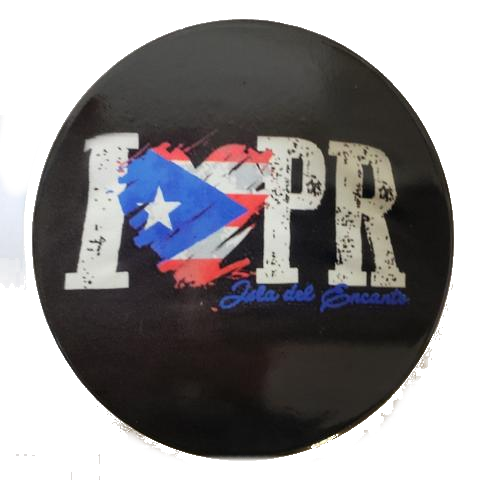 I Love Puerto Rico, 4 pieces Cup Holder
