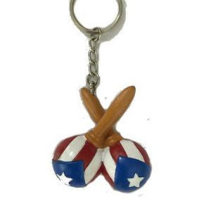 Flag Marracas Keychain - www.ElColmado.com