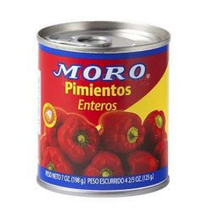 Moro Red Sweet Pepper 2 cans 7oz