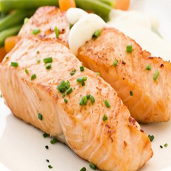 Salmon with Garlic and Thyme Recipe
