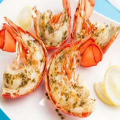 Lobster with Island Mojito Recipe