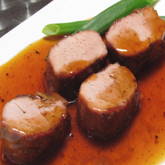 Pork Medallions with Passion Sauce Recipe
