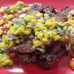 Churrasco with Mango Chimichurri Recipe