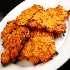 Sweet Potato and Pumpkin Fritters Recipe