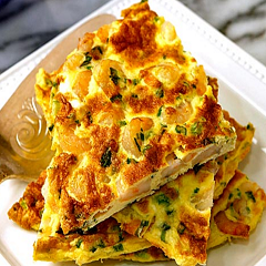 Shrimp Frittata Recipe