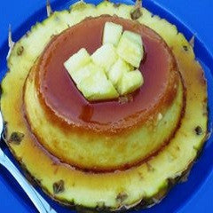Pineapple Flan, Flan de Piña Recipe