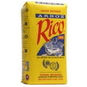 1 Bag Rico Rice, Medium 3lb
