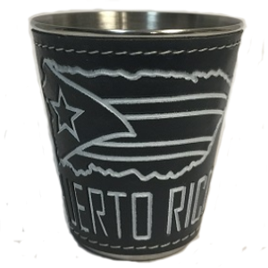 Puerto Rico Flag Shot Glass