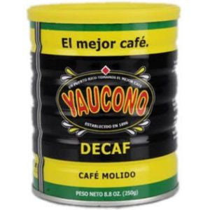 2 Cans Cafe Yaucono Decaf 8.8oz
