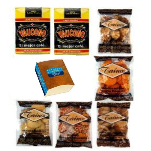 Gift Box Yaucono Taino Cookies and Holsum Pound Cake