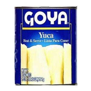 Goya Yuca, Cassava 1 can 14oz