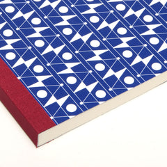 Detail of Klein Blue Frequency Notebook by Esme Winter