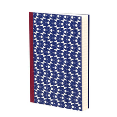Klein Blue Stem Lined Notebook by Esme Winter