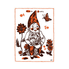 Nathalie Lete Tea Towel - Gnome