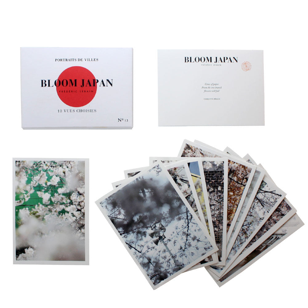 Bloom Japan Vues Choisies 10 Set Photography of Cherry Blossoms