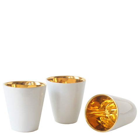modern french espresso cups with gold interior by tse tse associees