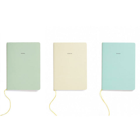 set of 3 buddhist notebooks from The School of Life