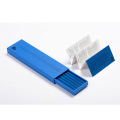 Philosophical Pencil Set with Blue Case