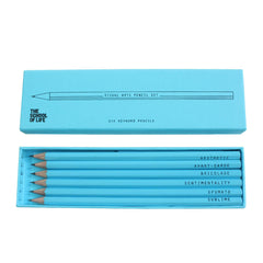 Visual Arts Keyword Pencil Set with Box from The School of Life