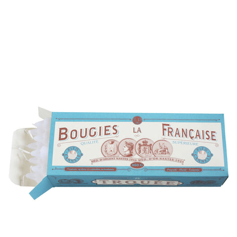 Bougies la Français - Box of 8 Candles