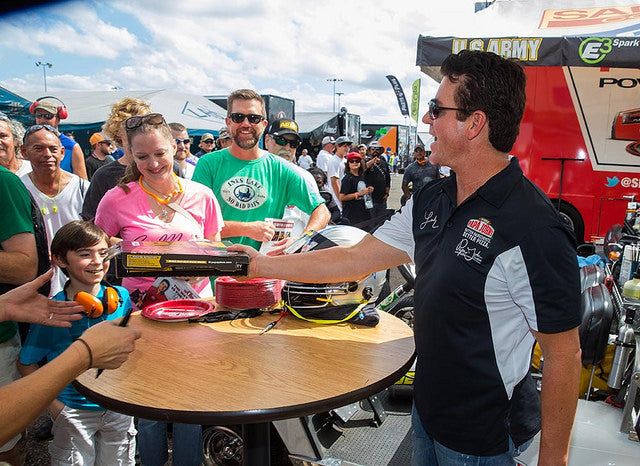 First Top Fuel pole, semifinals finish at last race followed by visit with Dallas Cowboys further motivates Pritchett, Papa John's team | Leah Pritchett