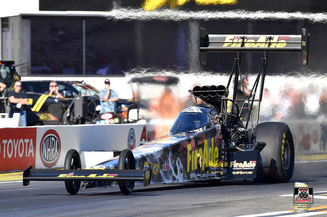 Pritchett disappointed with early NHRA U.S. Nationals loss but ecstatic to advance to Countdown playoff by one point | Leah Pritchett